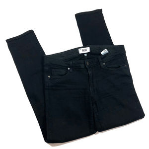 Paige Black Denim Skyline Ankle Peg Jeans